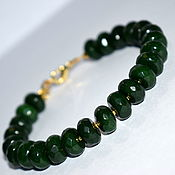 Украшения handmade. Livemaster - original item Indian emerald bracelet. Handmade.