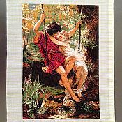"""Картины и панно ручной работы. Ярмарка Мастеров - ручная работа Картина """"Первая любовь"""". Handmade."""