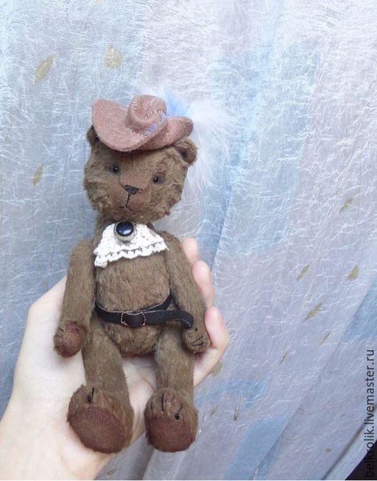 Мишки Тедди ручной работы. Ярмарка Мастеров - ручная работа. Купить Тедди мишка Мушкетер. Handmade. Мишка, мушкетер, сливер