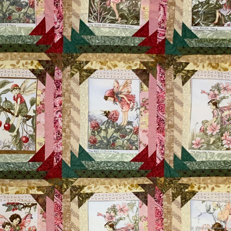 """Одеяло для девочки -школьницы """"Феи диких роз"""", Текстиль, Москва, Фото №1"""