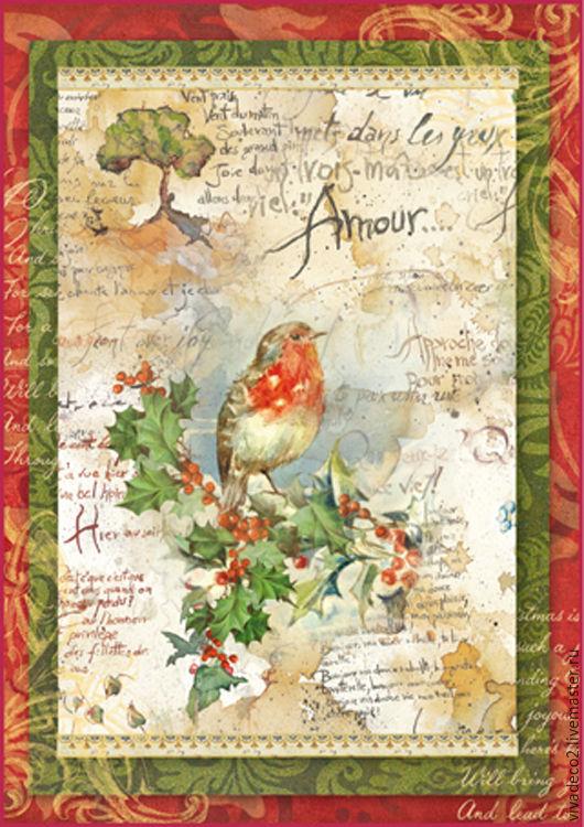 DFSA4037  Рождественские цветы   3/0