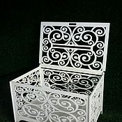 Свадебный салон ручной работы. Ярмарка Мастеров - ручная работа Византийский сундучок. Handmade.