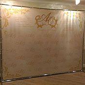 Свадебный салон ручной работы. Ярмарка Мастеров - ручная работа Фото-стенд 3,0х2,3. Handmade.