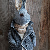 Stuffed Toys handmade. Livemaster - original item Blueberry Bunny. Handmade.