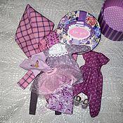 Куклы и игрушки handmade. Livemaster - original item A set of clothes for Blythe doll (# 204, shades of lilac):. Handmade.