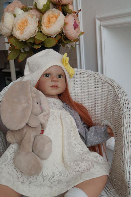 Куклы-младенцы и reborn ручной работы. Ярмарка Мастеров - ручная работа. Купить Алиса. Handmade. Рыжий, винил