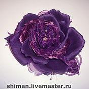 Украшения ручной работы. Ярмарка Мастеров - ручная работа Розы из шелка и бархата. Handmade.