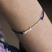Украшения handmade. Livemaster - original item Lace bracelets and Hashtags in gold 585 and silver 925. Handmade.