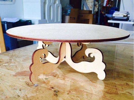 Декоративная посуда ручной работы. Ярмарка Мастеров - ручная работа. Купить Подставка для торта. Handmade. Торт, свадебный торт