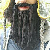 Шапки ручной работы. Ярмарка Мастеров - ручная работа Вязаная борода. Handmade.