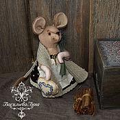 Куклы и игрушки ручной работы. Ярмарка Мастеров - ручная работа Мышь из погребов прованса). Handmade.
