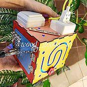 Бизиборды ручной работы. Ярмарка Мастеров - ручная работа Мини бизиборд. Handmade.