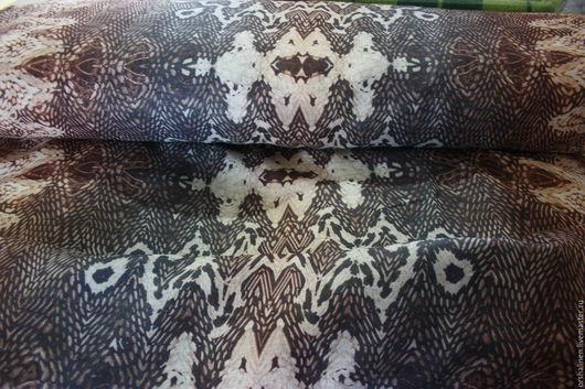 """Шитье ручной работы. Ярмарка Мастеров - ручная работа. Купить Марлевка льняная """"Питон"""". Handmade. Комбинированный, летние ткани"""