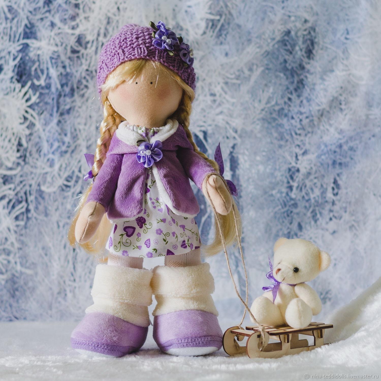 Кукла текстильная интерьерная Яночка, Тыквоголовка, Новосибирск,  Фото №1