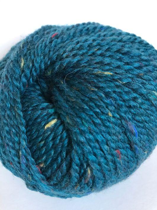 Вязание ручной работы. Ярмарка Мастеров - ручная работа. Купить Hamilton tweed. Handmade. Бордовый, пряжа в мотках