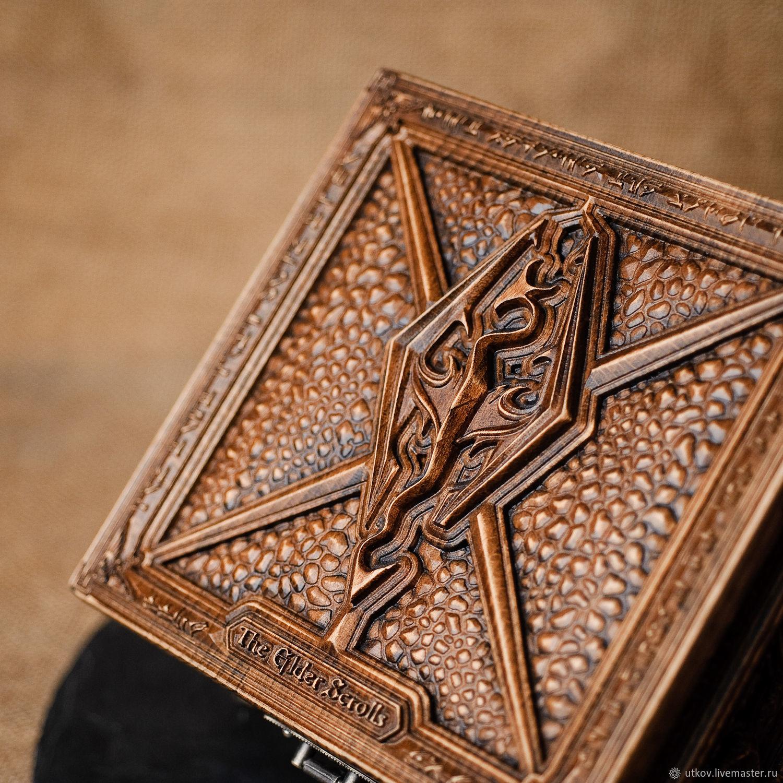 The Elder Scrolls V:  Skyrim Jewelry Box, Gift editions, Gus-Khrustalny,  Фото №1