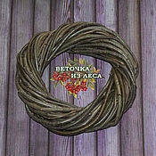 Materials for floristry handmade. Livemaster - original item The basis for the average wreath, 20-29 cm (Rowan). Handmade.