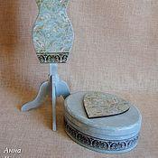 Для дома и интерьера ручной работы. Ярмарка Мастеров - ручная работа Шкатулка и манекен-подставка для украшений. Handmade.