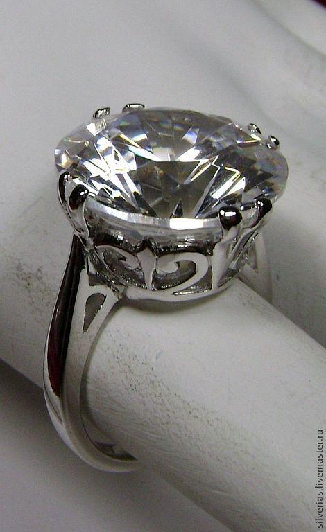 Кольца ручной работы. Ярмарка Мастеров - ручная работа. Купить Серебряное кольцо Лютик. Handmade. Купить кольцо с камнем