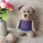 Куклы и игрушки handmade. Livemaster - original item Toy Bear amigurumi author`s handmade knitted. Handmade.