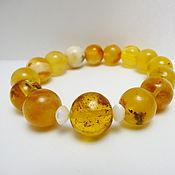 Украшения handmade. Livemaster - original item Amber bracelet Br-145. Handmade.