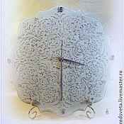 Для дома и интерьера ручной работы. Ярмарка Мастеров - ручная работа Часы Лавандовая нежность. Handmade.
