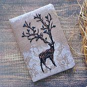 Канцелярские товары handmade. Livemaster - original item Notepad with deer. Handmade.