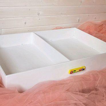 Мебель ручной работы. Ярмарка Мастеров - ручная работа Ящик для хранения под кровать.. Handmade.