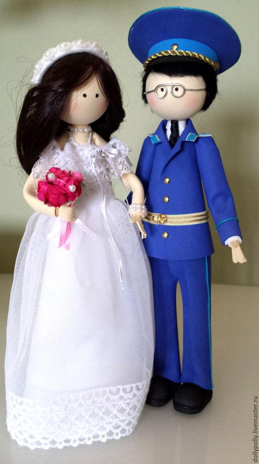 Коллекционные куклы ручной работы. Ярмарка Мастеров - ручная работа. Купить Вечная Любовь. Handmade. Белый, жених и невеста