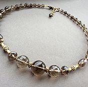 Украшения handmade. Livemaster - original item Necklace-choker of Topaz. Handmade.