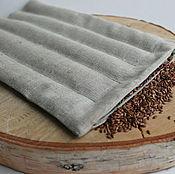 Для дома и интерьера handmade. Livemaster - original item Flax heating pad with flax seeds