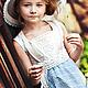 Одежда для девочек, ручной работы. Комплект винтажный. Анастасия Курбатова (anastakurbatova). Интернет-магазин Ярмарка Мастеров. Винтажное платье, хлопок