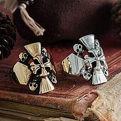 Украшения handmade. Livemaster - original item Ring Maltese cross. Ring of the order of the Hospitallers bronze silver. Handmade.
