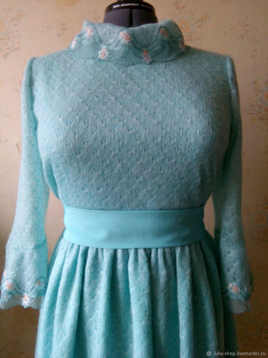 Сшить платье из трикотажа масло 76