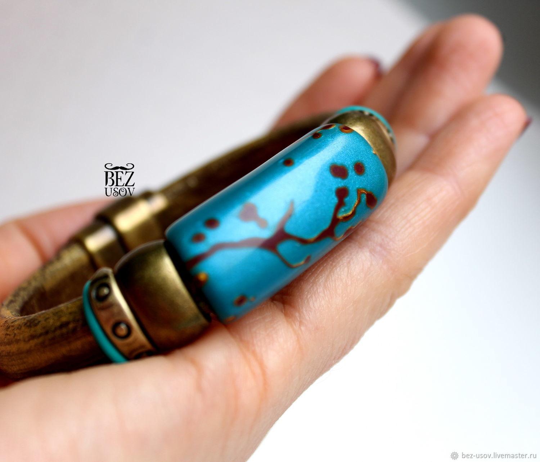 Regaliz leather bracelet ' Dreams', Regaliz bracelet, Moscow,  Фото №1