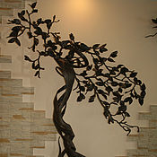 Для дома и интерьера ручной работы. Ярмарка Мастеров - ручная работа Кованое дерево. Handmade.