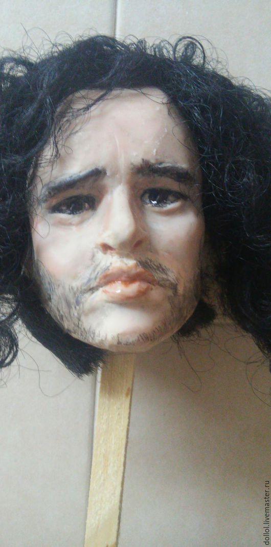 Портретные куклы ручной работы. Ярмарка Мастеров - ручная работа. Купить Джон Сноу, голова. Handmade. Игра престолов