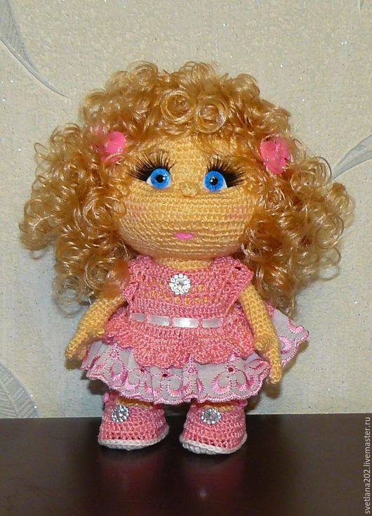 Человечки ручной работы. Ярмарка Мастеров - ручная работа. Купить Кукла Маришка. Handmade. Разноцветный, платье, пуговицы