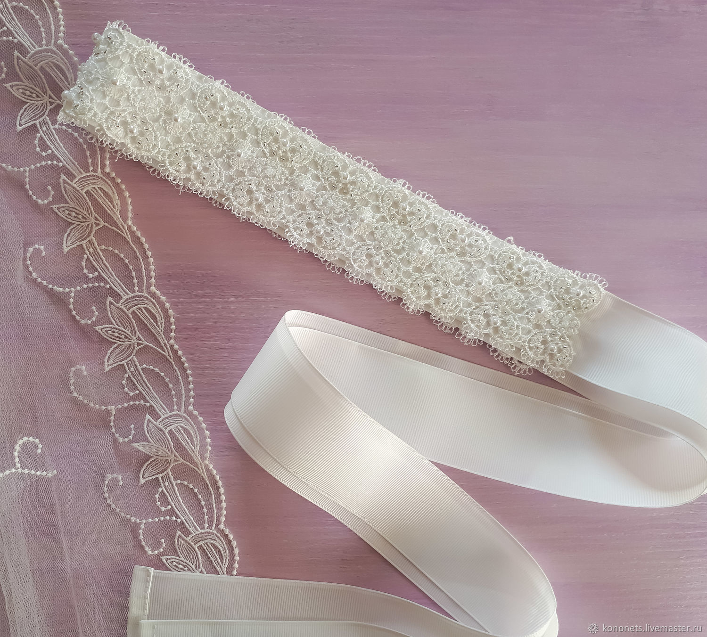 Пояс для свадебного платья, Аксессуары, Москва,  Фото №1
