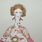 Куклы и игрушки ручной работы. Ярмарка Мастеров - ручная работа куклы на чайник. Handmade.