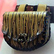 Субкультуры handmade. Livemaster - original item Pouch Belt