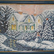 Картины ручной работы. Ярмарка Мастеров - ручная работа Картины: Рождество.. Handmade.