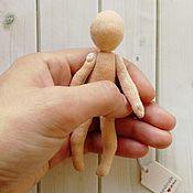 Материалы для творчества handmade. Livemaster - original item Blank doll 10 cm (3,94