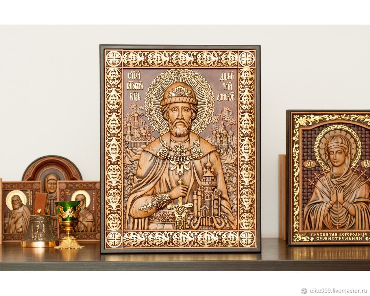 Holy Prince Dmitry Donskoy, Icons, Omsk,  Фото №1