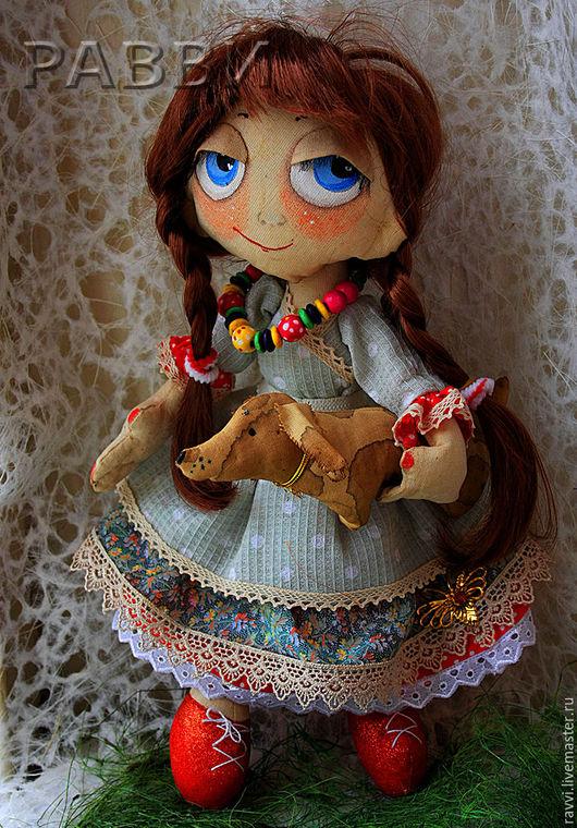 Коллекционные куклы ручной работы. Ярмарка Мастеров - ручная работа. Купить текстильная кукла. Анастасия. Handmade. Кукла ручной работы