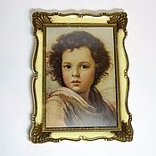 Винтаж handmade. Livemaster - original item Photo frame with vintage postcard. Handmade.