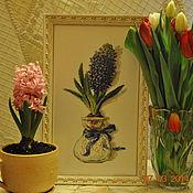 """Картины и панно ручной работы. Ярмарка Мастеров - ручная работа Картина """"Первое дыхание весны"""". Handmade."""