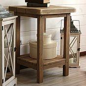 """Столы ручной работы. Ярмарка Мастеров - ручная работа Прикроватный столик """"Давным-давно"""". Handmade."""