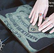 """Фен-шуй и эзотерика ручной работы. Ярмарка Мастеров - ручная работа Спиритическая доска """"Крыло ворона"""". Handmade."""
