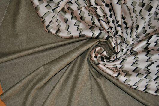 Шитье ручной работы. Ярмарка Мастеров - ручная работа. Купить Костюмная шерсть с кашемиром CERRUTI. Handmade. Костюмная ткань